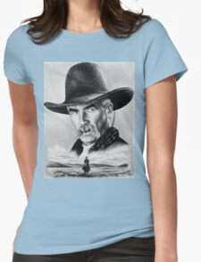 Sam Elliot  Lone Rider Womens Fitted T-Shirt