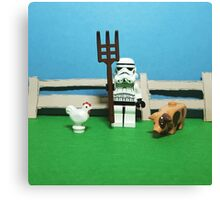 Farmtrooper Canvas Print