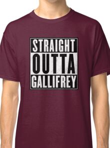 Doctor Who - Straight outta Gallifrey Classic T-Shirt