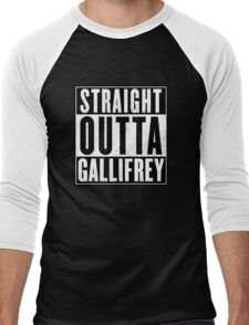 Doctor Who - Straight outta Gallifrey Men's Baseball ¾ T-Shirt