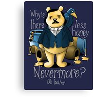 Edgar Allan Pooh Canvas Print