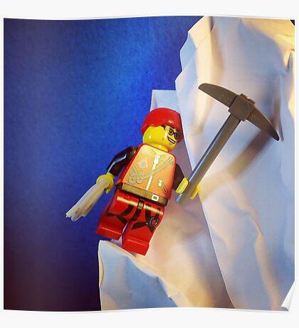 Lego Ice Climber Poster