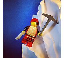 Lego Ice Climber Photographic Print