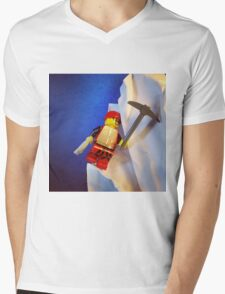 Lego Ice Climber Mens V-Neck T-Shirt