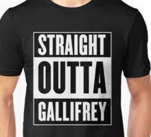Straight Outta Gallifrey Unisex T-Shirt