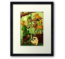 The Forest Critters Framed Print