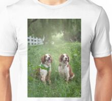 Two Welshies...... Unisex T-Shirt