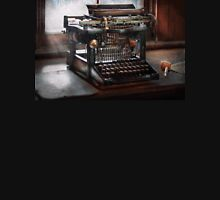 Steampunk - Typewriter - A really old typewriter  Unisex T-Shirt