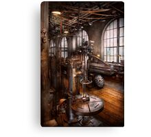 Machinist - Industrial Drill Press  Canvas Print