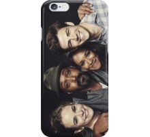 The Flash Cast - Poster iPhone Case/Skin
