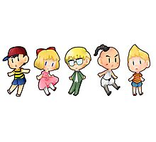 Mother/ Earthbound characters Photographic Print