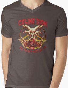 My heart will go on metal T-Shirt | HD Mens V-Neck T-Shirt