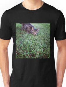 Cat on the Hunt Unisex T-Shirt