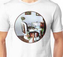 Barber Chair Unisex T-Shirt