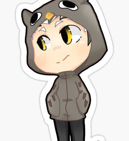 Haikyuu! Owl Captain Bokuto Sticker