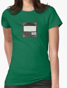 SyQuest Disk/Cartridge Womens Fitted T-Shirt