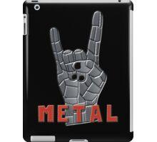 METAL!!! iPad Case/Skin