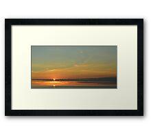 Southcoast Sunset Framed Print