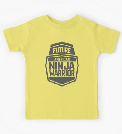 Future American Ninja Warrior Kids Tee