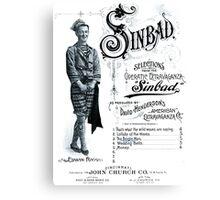 Sinbad Canvas Print