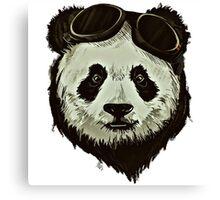 Punk Panda Canvas Print