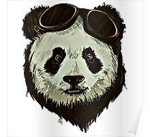 Punk Panda Poster