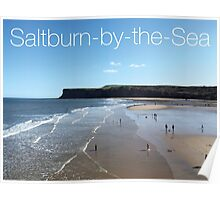 Saltburn Beach - Hunt Cliff Poster