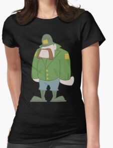 Soldier Womens Fitted T-Shirt