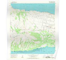 USGS TOPO Map Hawaii HI Molokai Airport 349598 1968 24000 Poster