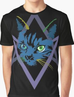 Cat is love, love under will Graphic T-Shirt
