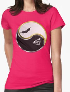 Yin Yang Womens Fitted T-Shirt