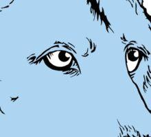 Wolf - Blue Sticker