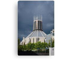 Metropolitan Cathedral, Liverpool, UK Canvas Print