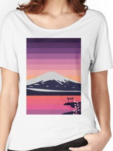 Sunset in Japan Women's Relaxed Fit T-Shirt