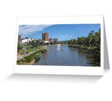 Adelaide - Torrens River  Greeting Card