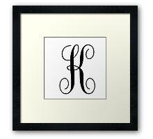 K1 Framed Print