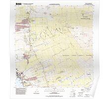 USGS TOPO Map Hawaii HI Kailua 349349 1996 24000 Poster