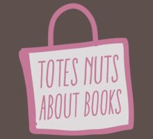 totes nuts about books One Piece - Short Sleeve