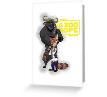 Nick Solo & Chief Chewiee - Variant Greeting Card