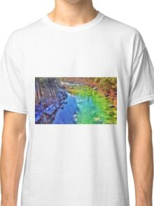 DanDel's Yuba Rainbow River Classic T-Shirt
