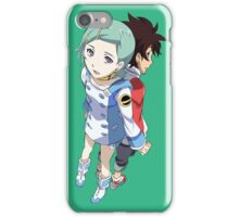 Eureka Seven Couple Holding Hands iPhone Case/Skin