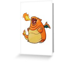 Charilard Greeting Card