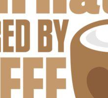 Journalist powered by coffee Sticker