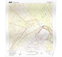 USGS TOPO Map Hawaii HI Kilauea Crater 349468 1981 24000 Poster