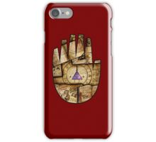 Bill Cipher Journal Cover iPhone Case/Skin