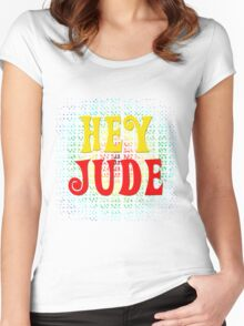 Hey Jude Women's Fitted Scoop T-Shirt