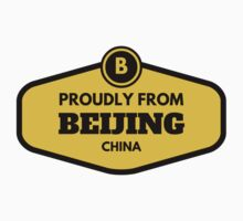Proudly From Beijing China Kids Tee