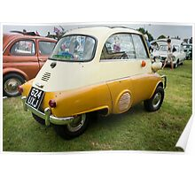 BMW Isetta Rear View Poster