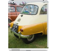BMW Isetta Rear View iPad Case/Skin