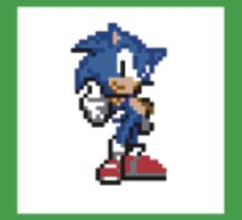 Sonic The Hedgehog Pixel Art One Piece - Short Sleeve